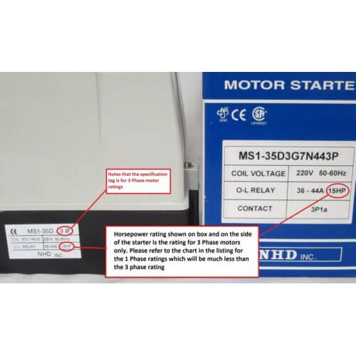 25hp Magnetic Starter  U2014 Typhoon Dust